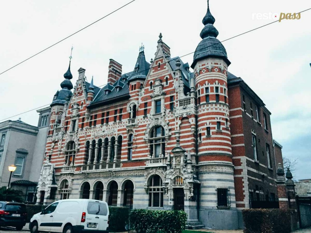 Anvers balade Cogels-Osylei