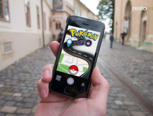 Restaurant Pokémon GO