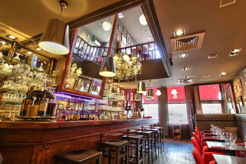 restaurant l'Entrée des artistes à Bruxelles