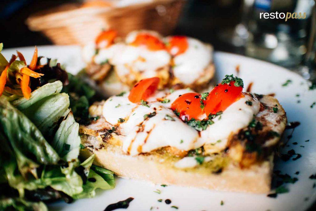 Restaurant Le Malte plat