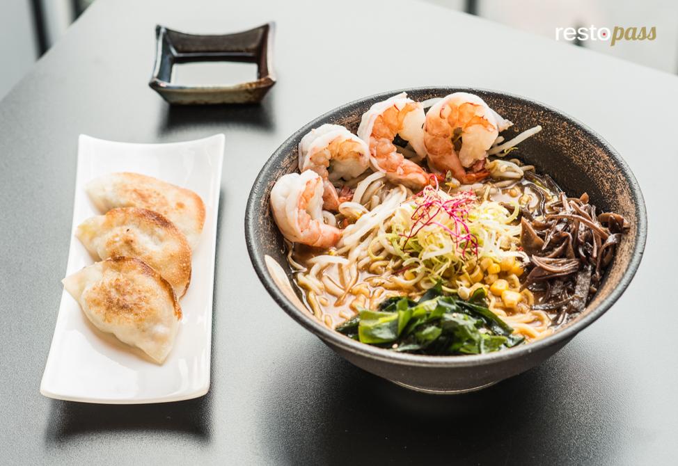 Samourai Ramen : soupe de nouilles