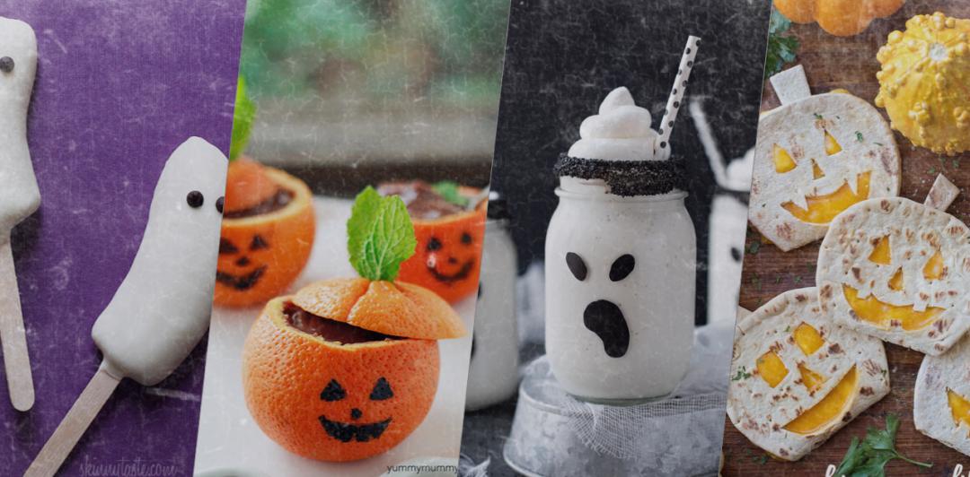 Photos des recettes halloween