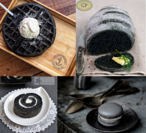 Charcoal foodie trend